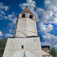 Шатровая колокольня. Успенской церкви, что в Любцах :: east3 AZ