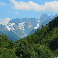 Синие горы Кавказа :: Татьяна Тюменка