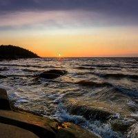 Белое море, остров Кий, июль. :: Валентин Кузьмин