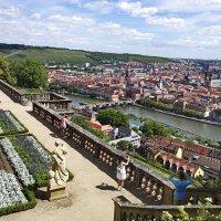 Вид с крепости Marienberg г.Würzburg :: Вальтер Дюк