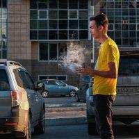 Курильщик или волшебник... :: alteragen Абанин Г.