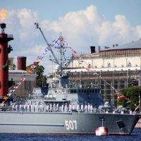Боевые корабли на Неве :: Валентина