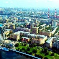 Из окна небоскрёба :: Сергей Беличев