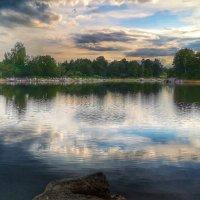 Вечер на реке :: Олег Каплун