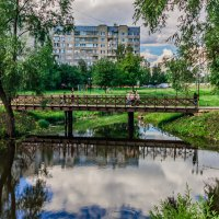Мостик через Красносельский пруд :: Andrew