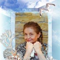 Красивая 70-летняя бабушка. Фотография с Новогоднего праздника. :: Анна Брыль