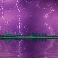 Когда гуляют молния и гром... :: Виктор Малород