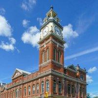 Здание Рынка с часовой башней, 1889, Питерборо, Канада :: Юрий Поляков