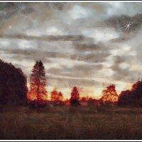 Солнце тонуло на дне горизонта........ :: Tatiana Markova