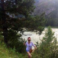 Путешественница по Алтаю . :: Мила Бовкун