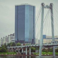 Вантовый мост, Красноярск :: Вадим Басов