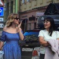 Ты одна такая ненормальная? — Нее, у меня еще подруга есть.... :: Tatiana Markova
