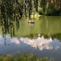 Мы на лодочке катались в воскресенье весь денёк ! :: Мила Бовкун