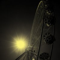 Солнце и колесо :: Alexander Andronik