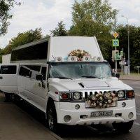 Автомобиль для всей свадьбы :: Валерий