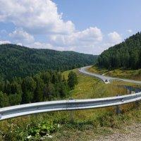 Дорога в Таштагол :: Наталия Григорьева