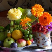 натюрморт с цветами :: Alisa Koteva