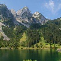 И горы как стражи вдоль озера :: Людмила Торварт