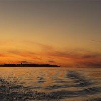 Закат над Кий-островом. :: Марина Никулина