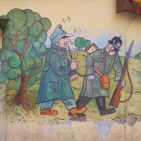 Бравый солдат Швейк - знаменитый персонаж. :: Yulia Raspopova