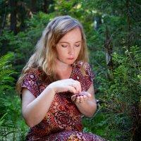 Фотосессия в лесу :: Роман Алексеев