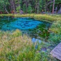 Гейзеровое озеро...Алтай :: Юрий Яньков
