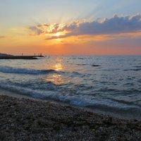Вечером у моря :: Эля Юрасова