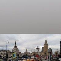 Площадь трёх вокзалов в Москве :: Галина