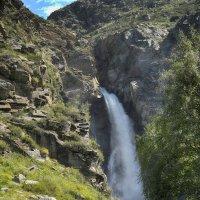 Перевал Кату-Ярык и водопад Кур-Куре...Алтай август 2020 :: Юрий Яньков