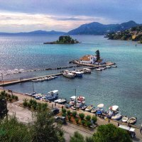 Мышиный остров-Понтикониси :: Светлана Баталий