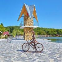 Железноводск. Городской парк. Парковое озеро. Декоративная скульптура :: Николай Николенко