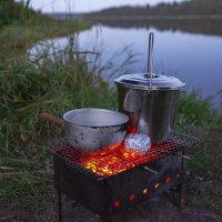Вечер в палатке :: Владимир