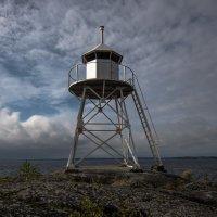 Финский маяк на Ладоге :: Наталья Левина
