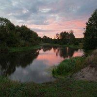 Рассвет на реке :: Алексей Клименко
