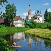 Городок Нерехта на реке Нерехте . :: Святец Вячеслав
