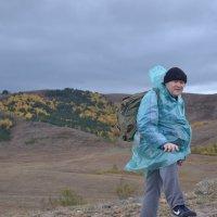 На перевале...Неплохо,жить можно... :: Андрей Хлопонин