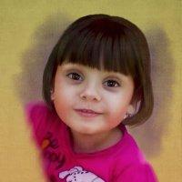 детский портрет :: Елена Лустова (Северинова)