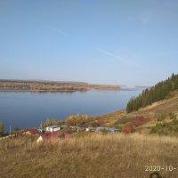Солнечный день октября. Река Кама. :: Алена