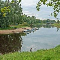 На реке Полисть в Старой Руссе :: El Кондукова