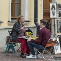 Уличная гадалка: карты всю правду скажут, дорогой :: Александр Степовой