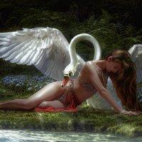 Белый лебедь :: Татьяна IgnisFatuus
