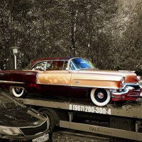 Cadillac Coupe Deville 1955 года. :: Zeitgeist Owl