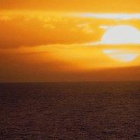 Морской закат 18 :: Роман Попов