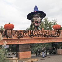 Хэллоуин в парке Гардаленд в Италии :: Ольга Бекетова
