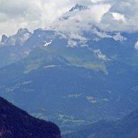 На альпийские вершины облака легли периной. :: Андрей Иванович (Aivanovich-2009)