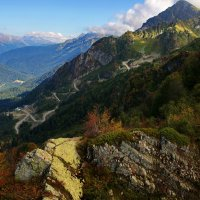 Сентябрь в горах :: Виолетта