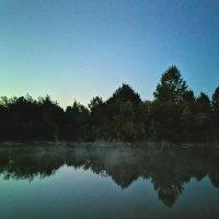 Туман стелиться над речкой :: Любовь Чащухина
