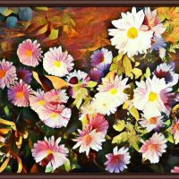 Осенние хризантемы :: Владимир Бровко