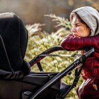 Mom, carriage, sun. :: Евгений Мокин