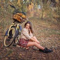 Осенняя прогулка :: Виктория Дубровская